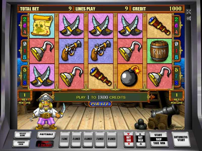 онлайн игры на деньги пираты